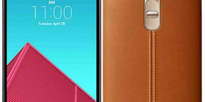 LG con su el LG G4. Foto:LG