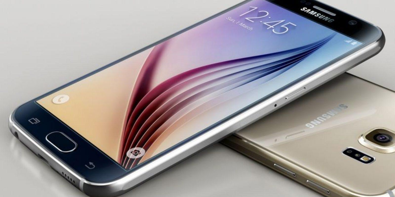 Samsung con el Samsung Galaxy S6. Foto:Samsung
