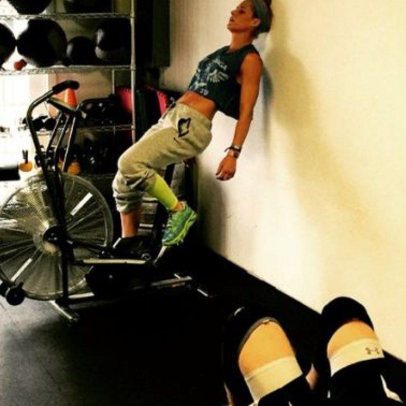 """La exdiva y el """"Fenómeno"""" suelen entrenar juntos Foto:Vía instagram.com/mimicalacool"""