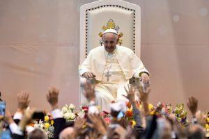 La visita del Papa a la frontera entre Estados Unidos y México Foto:AFP