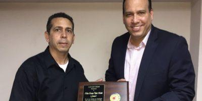 Club San Carlos reconoce a Junior Pepén