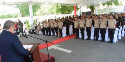 DNCD entrena aspirantes a agentes en marco de lucha contra el narcotráfico