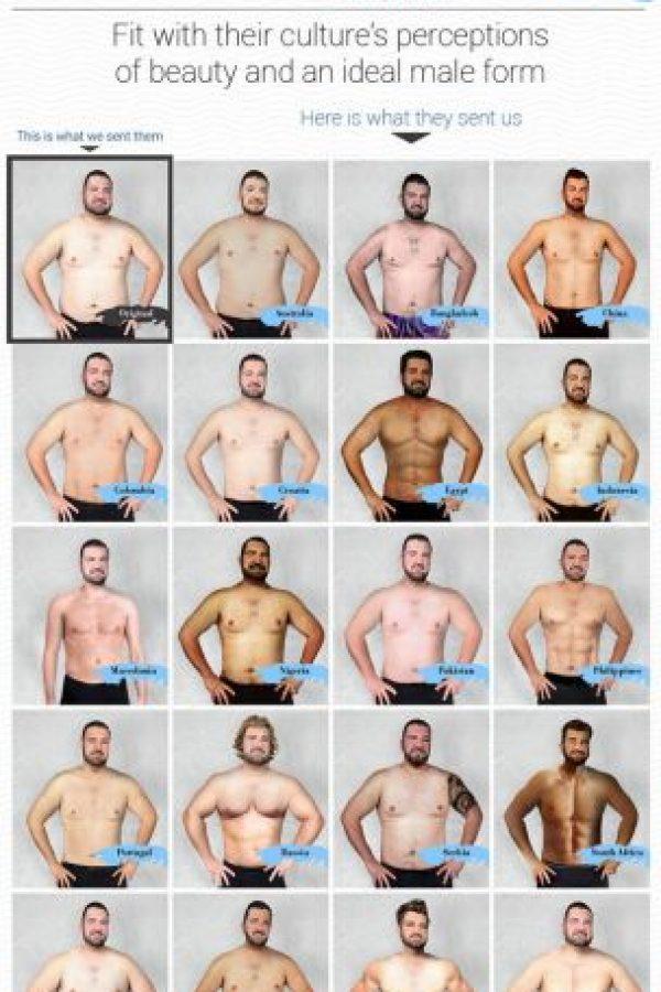 Así fue el experimento. Foto:Vía onlinedoctorsuperdrug.com