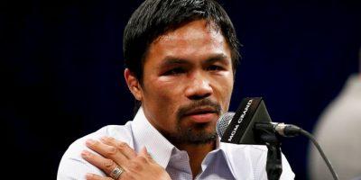 Manny Pacquiao se disculpa por comparar a homosexuales con animales