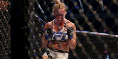 Y se convirtió en la Campeona de Peso Gallo de la UFC Foto:Getty Images