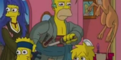 """Los Simpson"" en modo anime Foto: YouTube/Jim Jam"