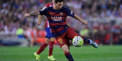 Cristiano Ronaldo tiene 57 goles menos que Messi Foto:Getty Images