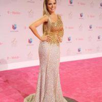 El vestido puede verse raro, pero es una de las mejores cosas que se ha puesto Gloria Trevi. Foto:vía Getty Images