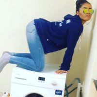 Es famosa en las redes sociales por sus bailes de twerking Foto:Vía instagram.com/rmarni
