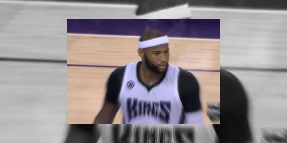 DeMarcus Cousin cesta 37 puntos con 20 rebotes
