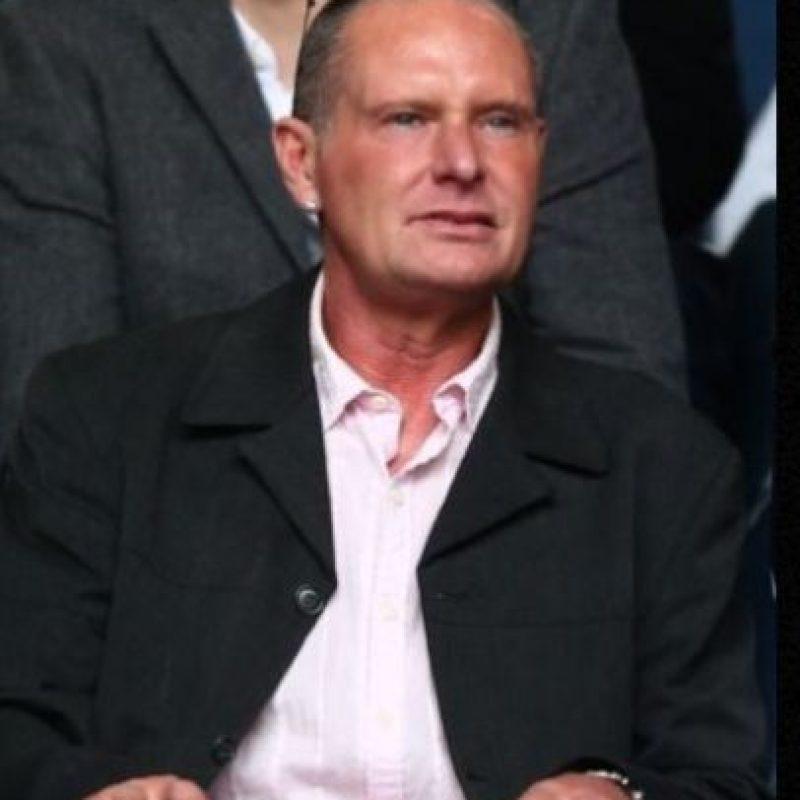"""Gordon Taylor, presidente de la Asociación de Futbolistas de Inglaterra, dijo al """"Daily Star"""" que Gascoigne solicitó ayuda económica y un hogar para vivir. Foto:Getty Images"""