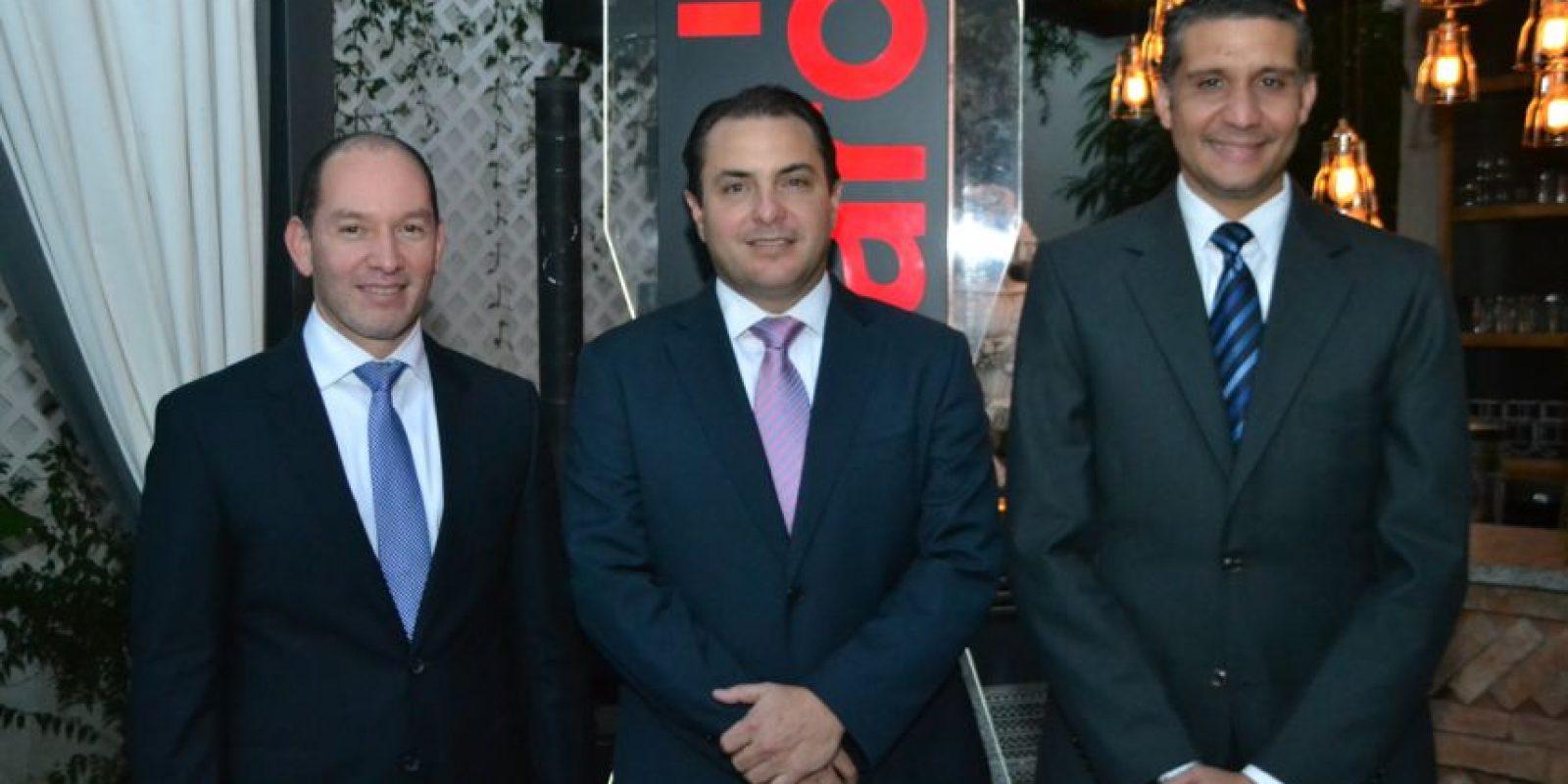 Omar Acosta, Walter Schall y Shariff Quiñones Foto:Fuente Extra