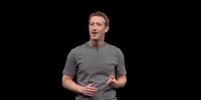 Mark Zuckerberg durante el evento de Samsung en Barcelona. Foto:Samsung