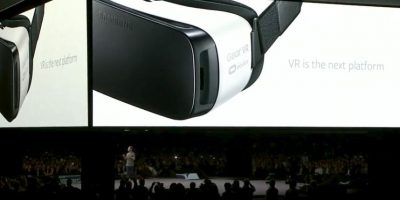 """Con el """"Gear VR"""" podrán ver videos en 360 grados. Foto:Samsung"""