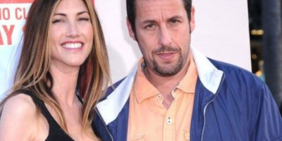 Adam Sandler y Jackie Titone. Foto: Getty Images