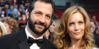 Judd Apatow y Leslie Mann. Foto:Getty Images