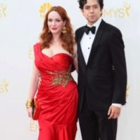 Christina Hendricks y Geoffrey Arend. F Foto: Getty Images
