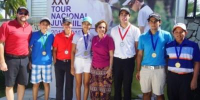 Valverde y Sánchez dominan sexta parada Tour Nacional Juvenil