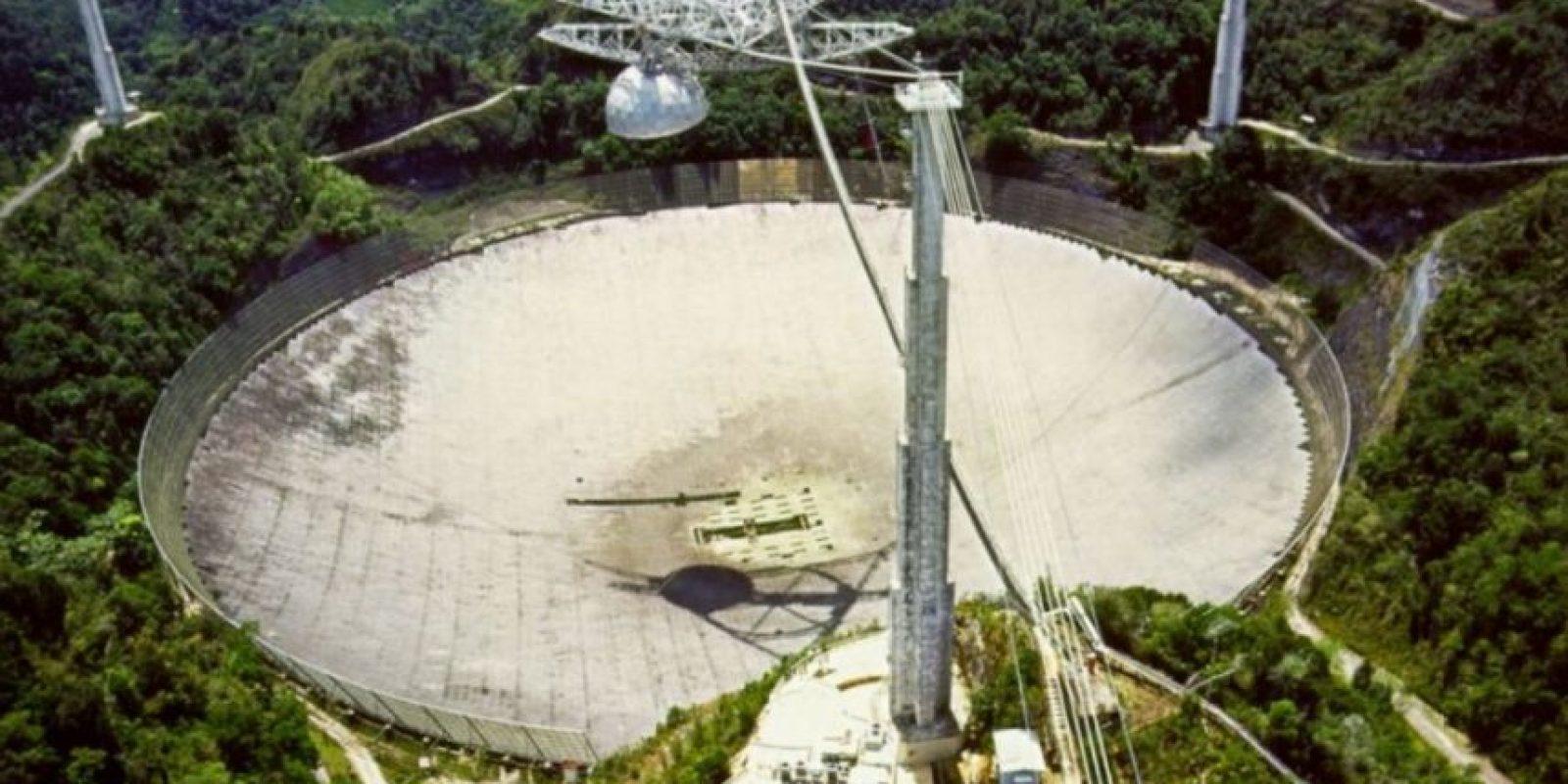 China esta construyendo el radiotelescopio más grande del mundo con el objetivo de recoger mensajes del espacio exterior que podrían estar relacionados con vida inteligente. Foto:Twitter @_FaisalArief