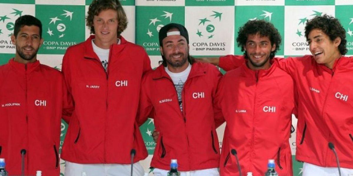 Chile oficializa su equipo para serie de Copa Davis ante República Dominicana