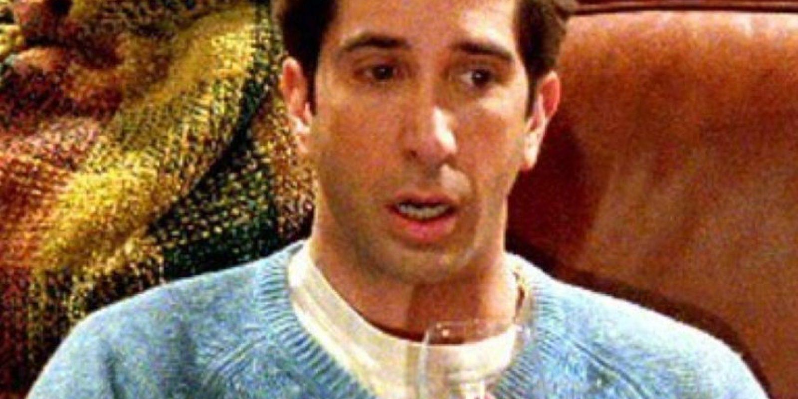 Ross, encantador, culto pero un desastre con las mujeres. Foto:NBC