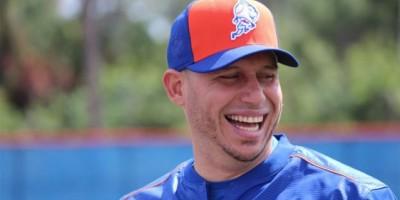 Asdrúbal Cabrera se integró a los Mets con una gran sonrisa