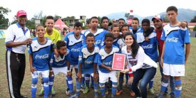 Manuel Ubaldo Gómez ganó la etapa de Jarabacoa de la Copa Coca-Cola de Fútbol