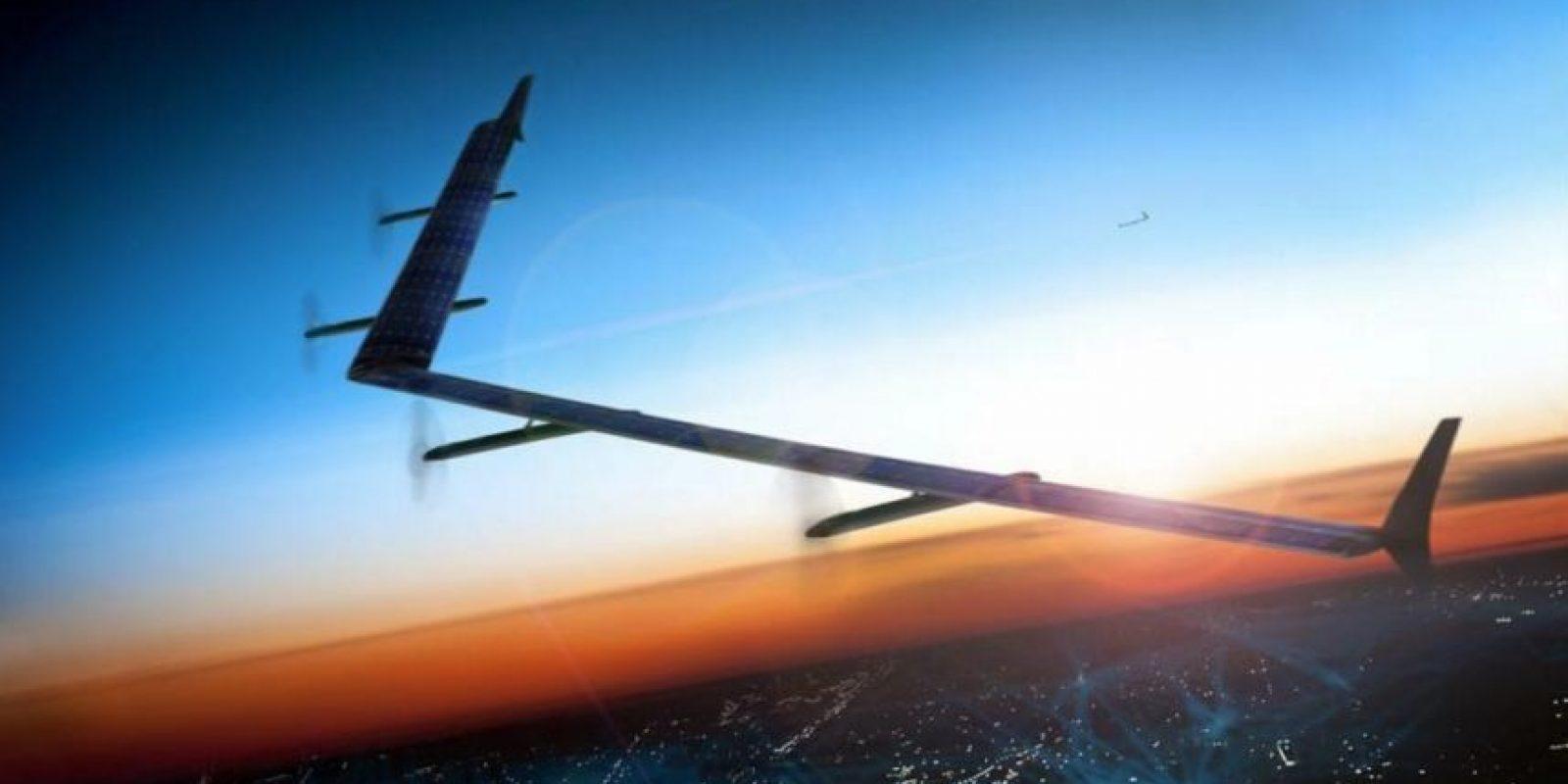 """""""Aquila"""", la aeronave que quiere conectar al mundo. Foto:Vía facebook.com/zuck"""