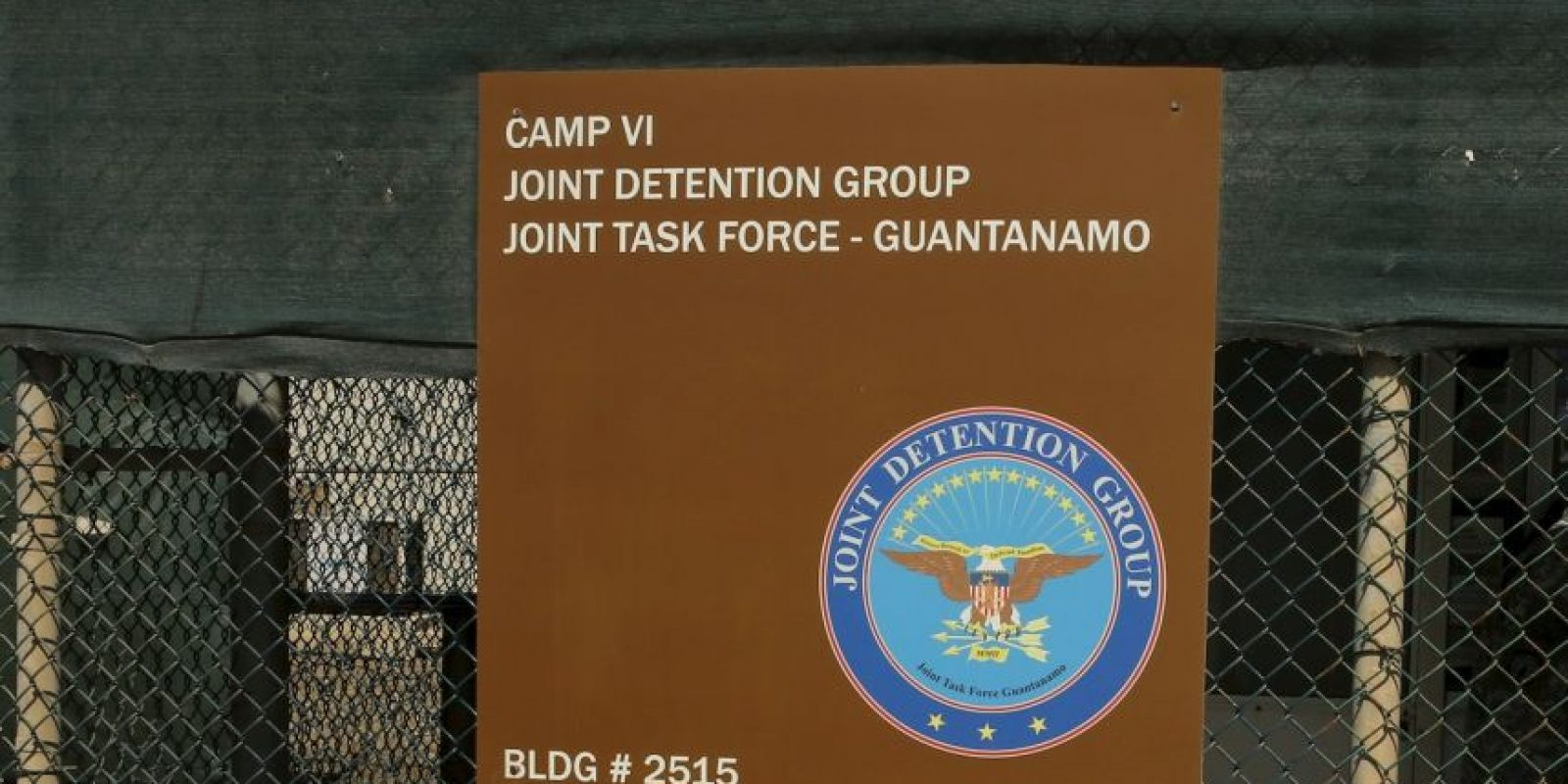 La prisión fue acondicionada dos días después de los atentados del 11 de septiembre de 2001. Foto:AP