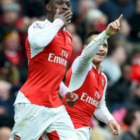 Arsenal vs. Barcelona Foto:Getty Images