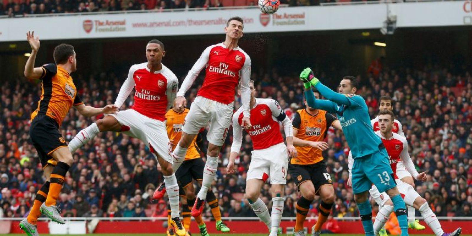 """Los """"Gunners"""" también pelean por el título liguero Foto:Getty Images"""