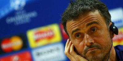 Luis Enrique, DT de Barcelona Foto:Getty Images