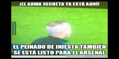 Memes: Se burlan en las redes por el extravagante look de Andrés Iniesta