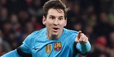 Messi hunde al Arsenal en la Liga de Campeones