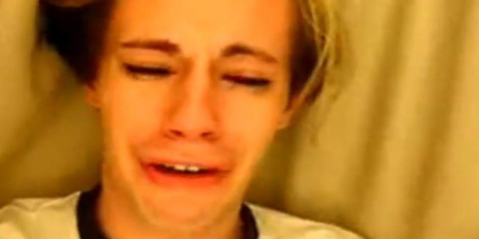 Cris Crocker se hizo famoso cuando defendió a Britney Spears. Foto:vía Youtube