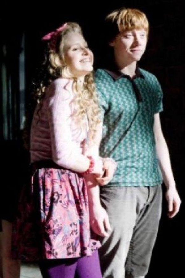 """Jessie Cave. Interpretó a la novia de """"Ron"""", """"Lavender Brown"""". Foto:Vía facebook.com/harrypottermovie"""