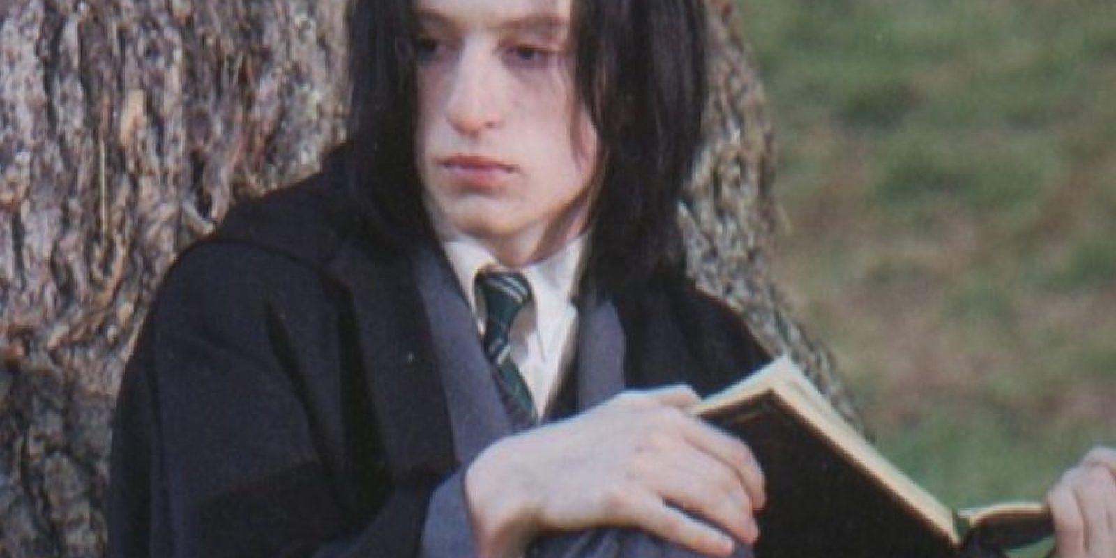 """Interpretó al joven """"Severus Snape"""" de joven Foto:Vía twitter.com/alecmhopkins"""