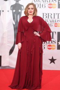 Llegó así a los Britt Awards Foto:Getty Images