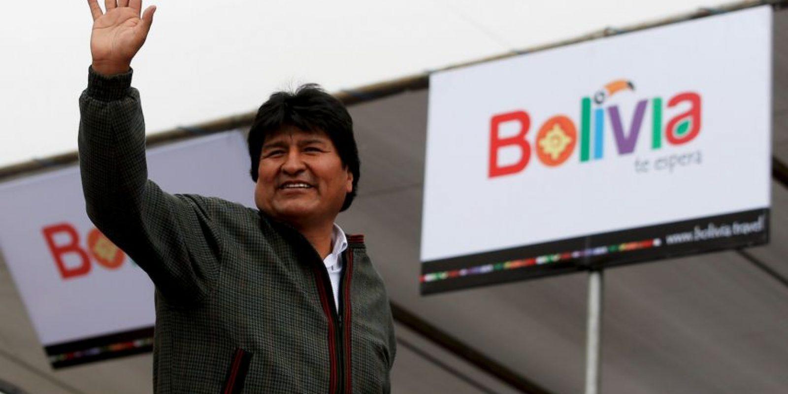 Evo Morales, presidente de Bolivia Foto:Getty Images