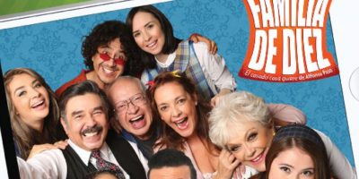 """Su última creación humorística fue """"Una familia de Diez"""". Foto:vía Televisa"""