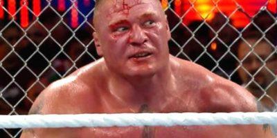 Borck Lesnar se mide ante dean Ambrose Foto:WWE