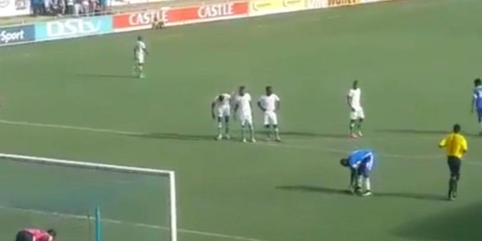 Ahora lo intentaron en Zimbabue, pero no anotaron Foto:Twitter