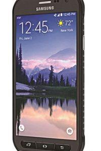 2- Samsung Galaxy S6 active. Su batería no se puede remover, pero sí ofrece carga rápida e inalámbrica con rendimiento de hasta 24 horas con sus 3.500 mAh. Foto:Fuente Externa
