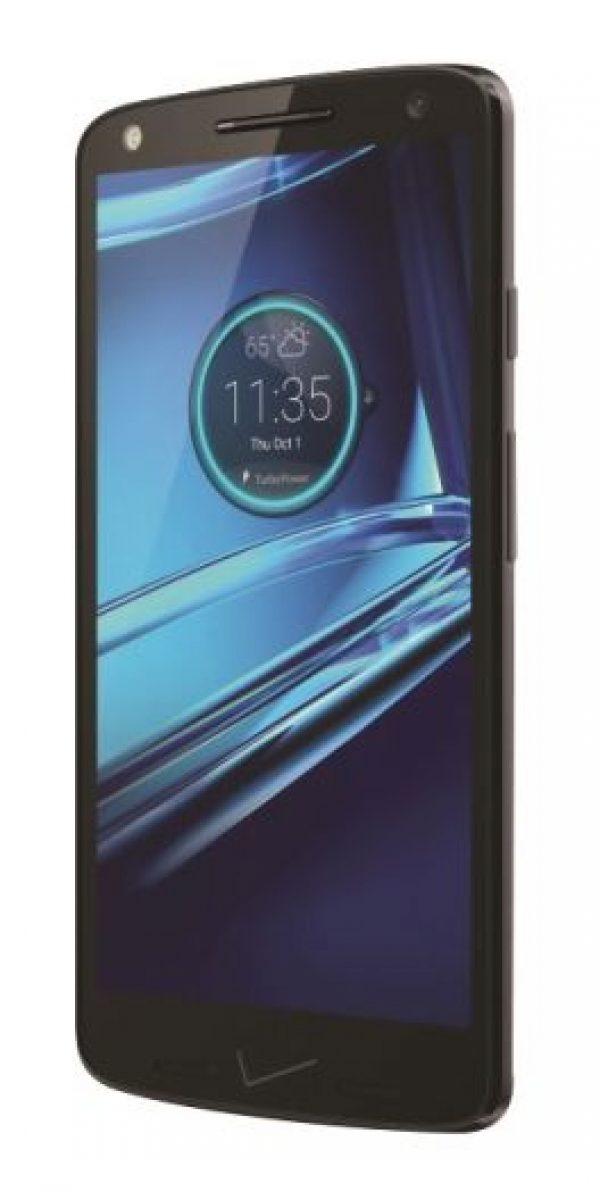 4- Motorola Droid Turbo 2. Su batería no se puede remover, pero sí ofrece carga rápida e inalámbrica, además de rendir hasta 24 horas con sus 3.760 mAh. Foto:Fuente Externa