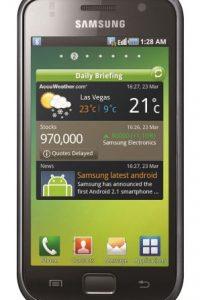 5- Samsung Galaxy S. Aunque su batería sí se puede remover, no se puede cargar rápidamente ni de forma inalámbrica; ofrece hasta 20 horas de rendimiento con sus 2.800 mAh. Foto:Fuente Externa