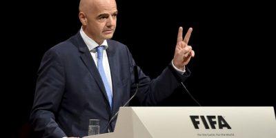 Gianni Infantino fue electo nuevo presidente de la FIFA Foto:Getty Images