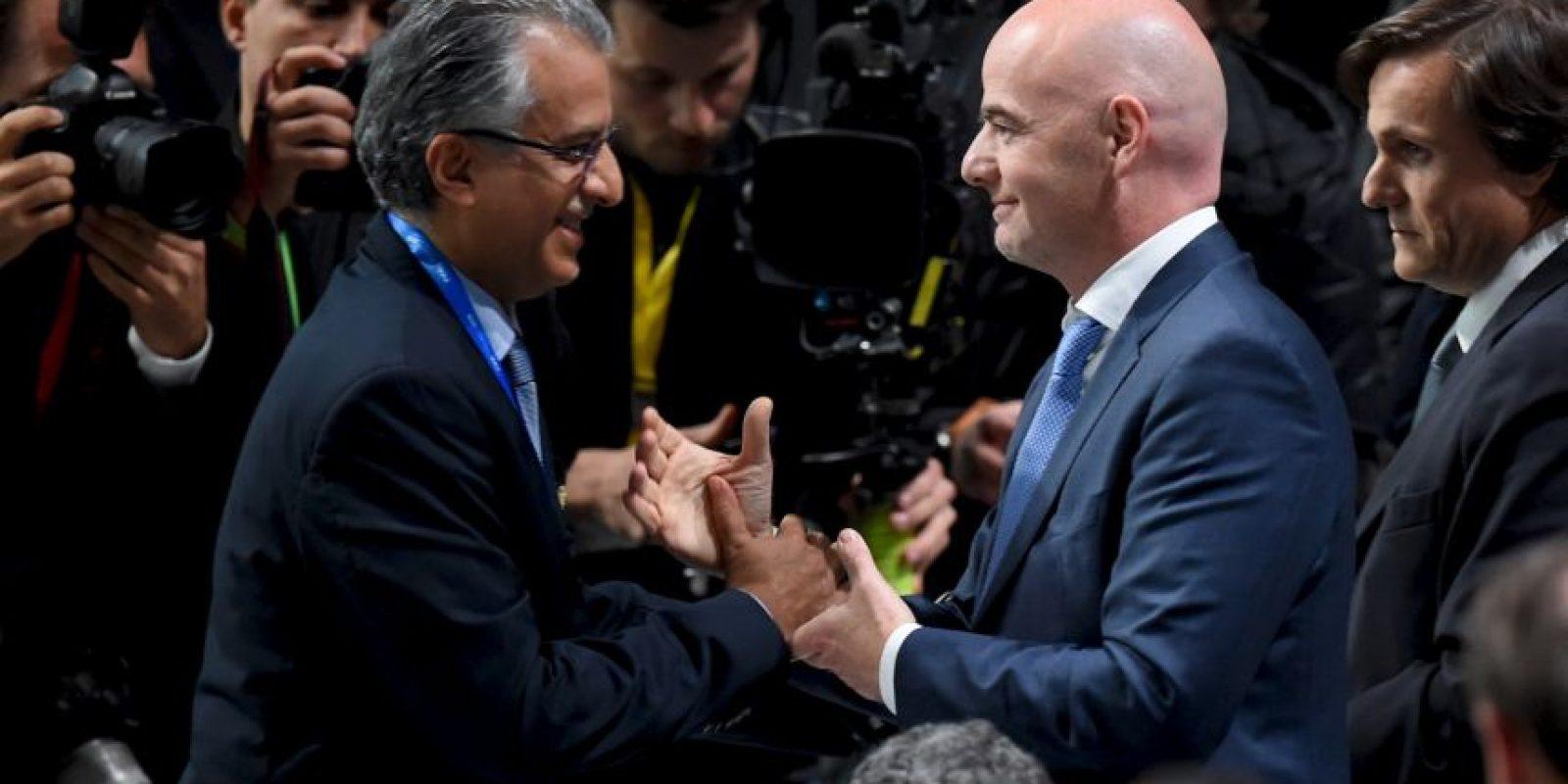 """""""Todos debemos trabajar para restaurar y reconstruir una nueva era en FIFA y poner el fútbol en el centro del escenario"""". Foto:Getty Images"""