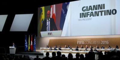 """""""Quiero ser presidente de todos los integrantes y confederaciones de FIFA"""". Foto:Getty Images"""