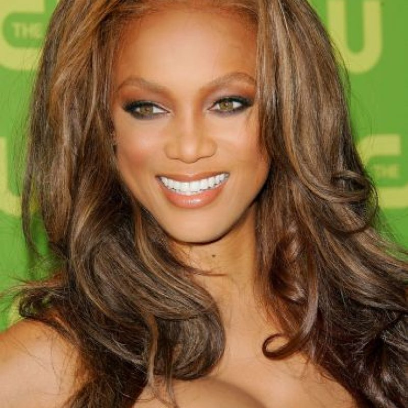 Antes y después de Tyra Banks Foto: Getty Images