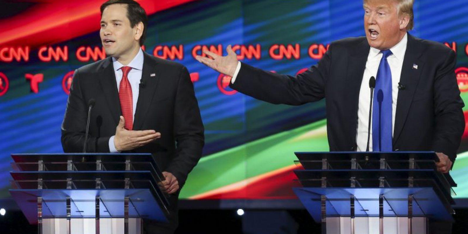 Aunque hubo muchos ambiciosos solo quedan cinco republicanos en la competencia. Foto:AFP